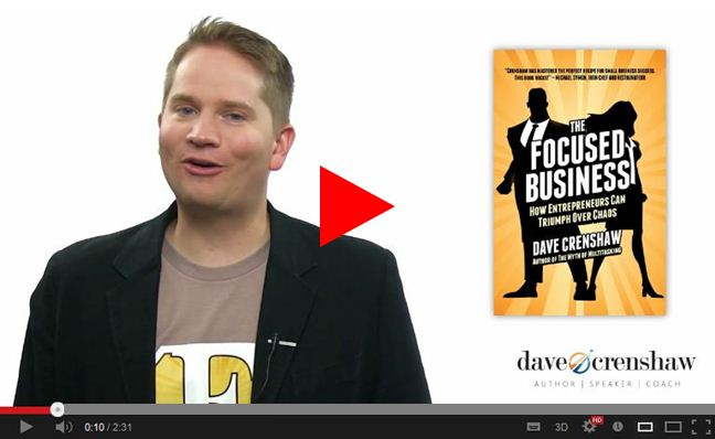 Your LAST CHANCE to get a free second copy of the Focused Business