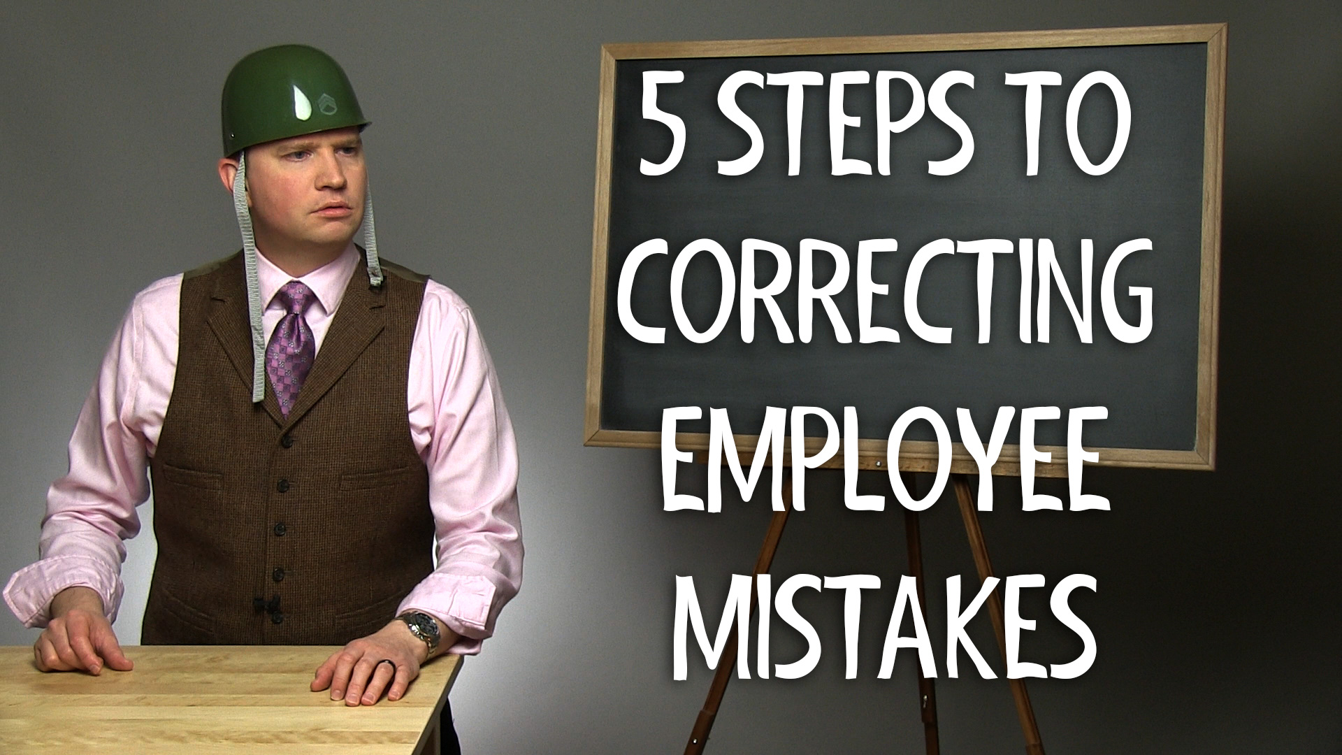 5 Steps to Correcting Employee Mistakes