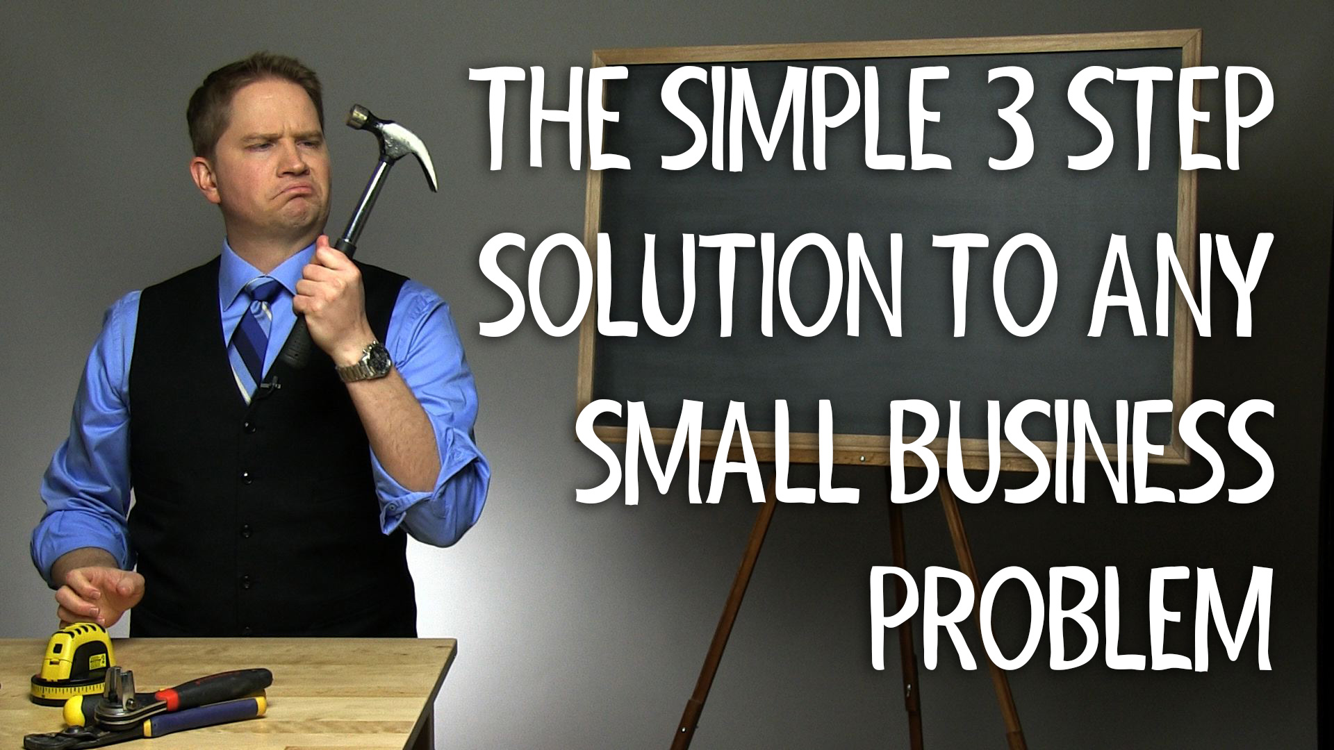 The 3 Step Process to Solve Any Small Business Problem- Don't be caught unprepared