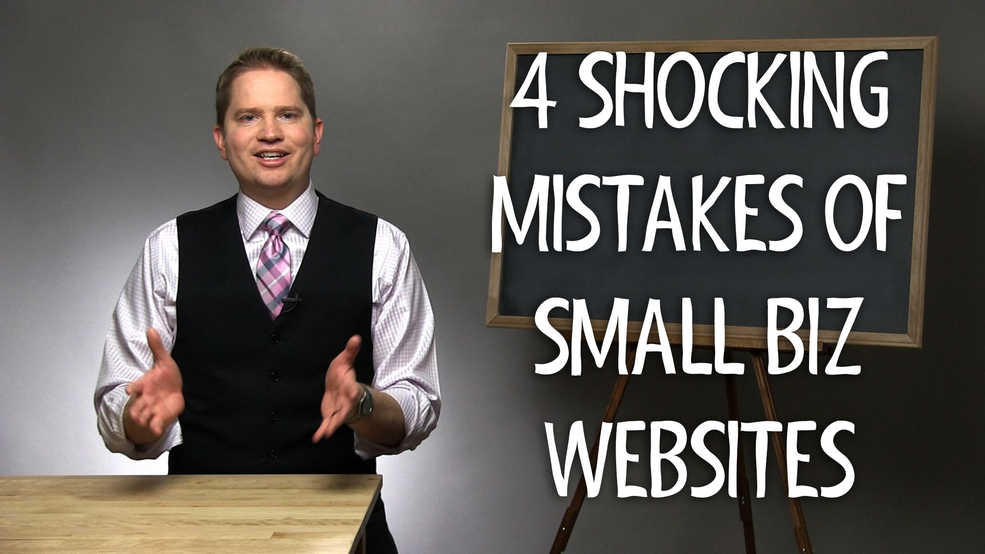 4 Shocking Mistakes of Small Business Websites: Are you missing out on sales?