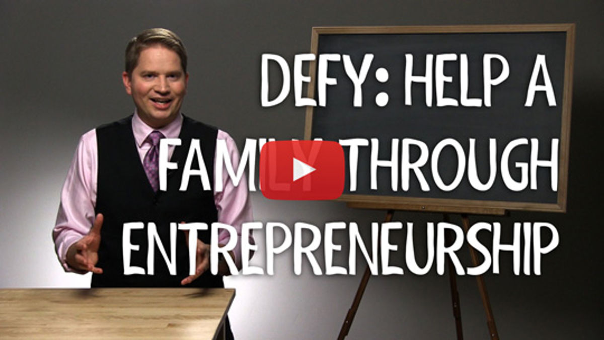 Support Defy Ventures & I'll Match Your Donation!