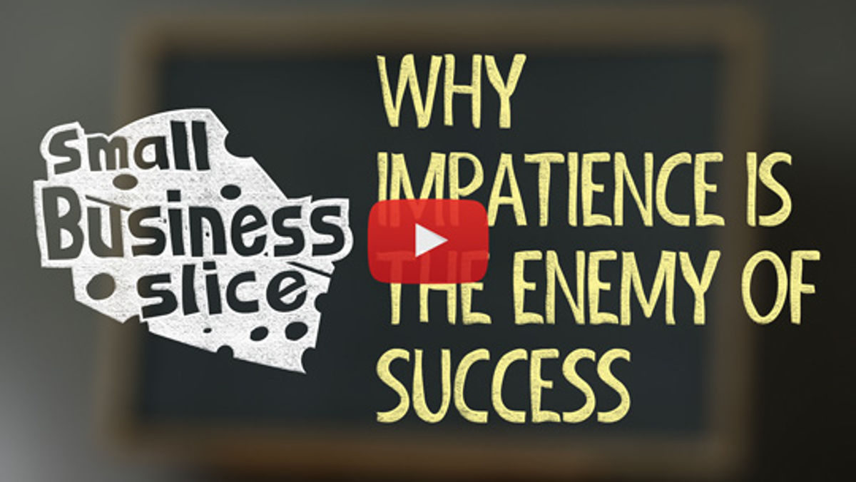 Impatience, Entrepreneurs, and Fool's Gold