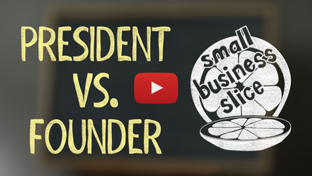 Which kind of entrepreneur are you: Founder or President?