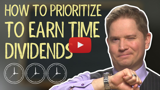 How to Prioritize to Gain Time Dividends