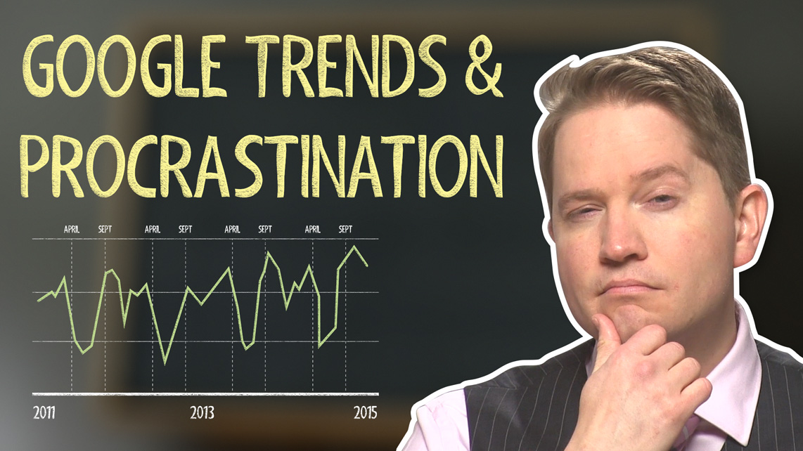 Google Trends and Procrastination: What's the Link?