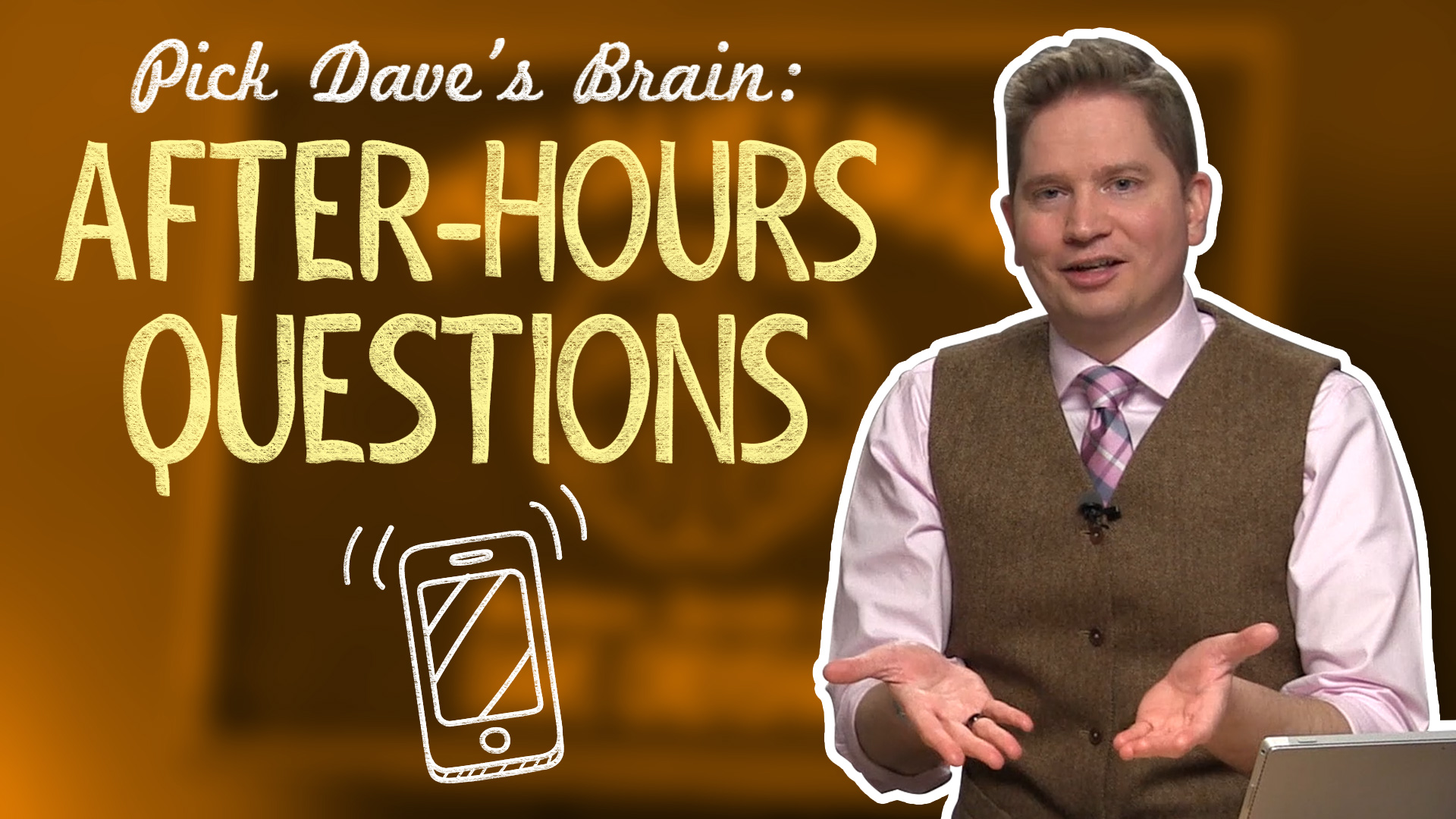 How to Stop Answering After-Hours Questions – Pick Dave's Brain