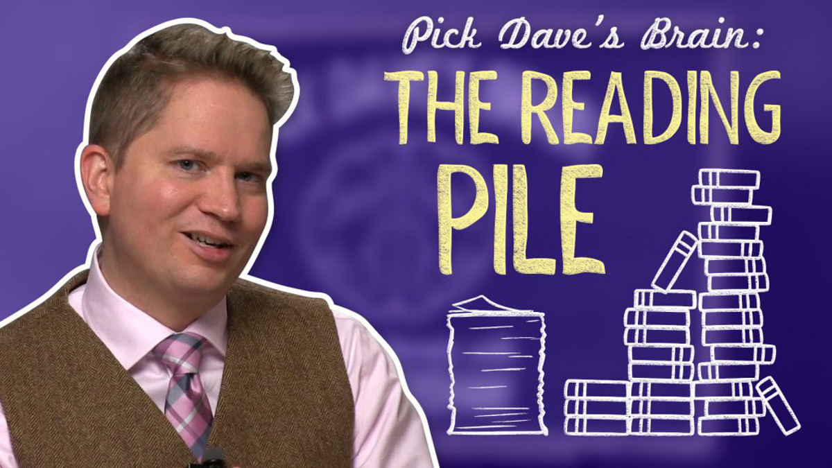 3 Tips for getting through your reading pile – Pick Dave's Brain