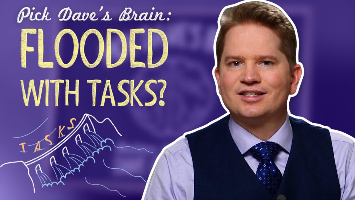 How To Get Work Done Without Stretching Yourself Thin – Pick Dave's Brain