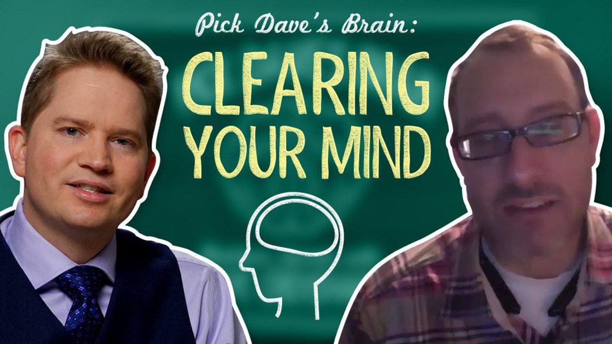 What to do when your brain is full of to-dos – Pick Dave's Brain