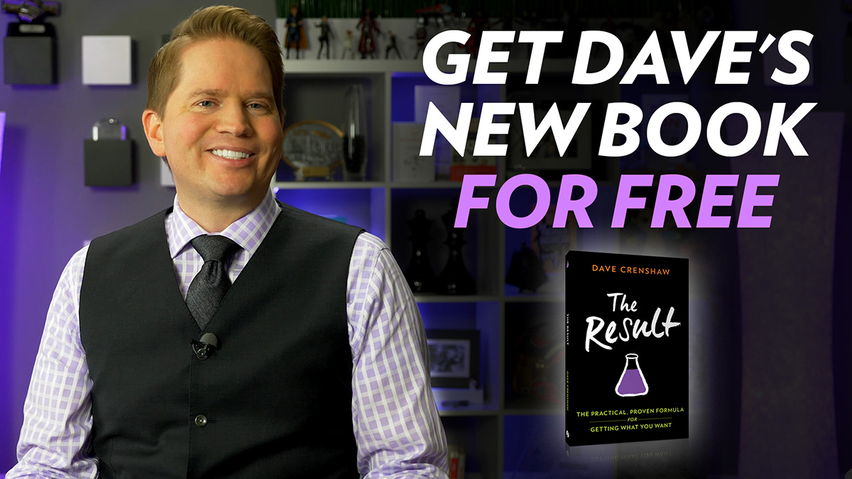 Get your free book from Dave Crenshaw