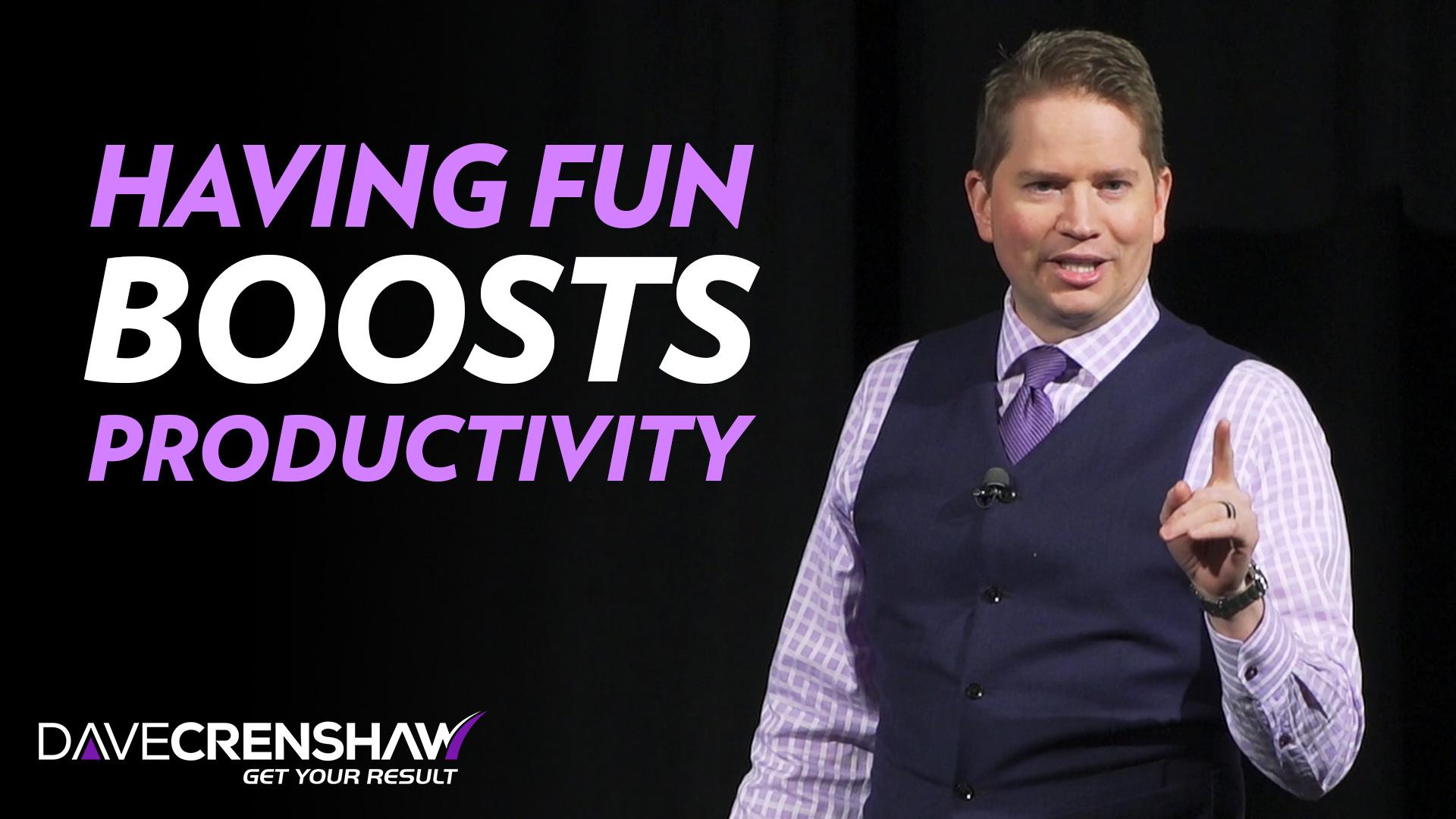Having Fun Boosts Productivity – Keynote Sample