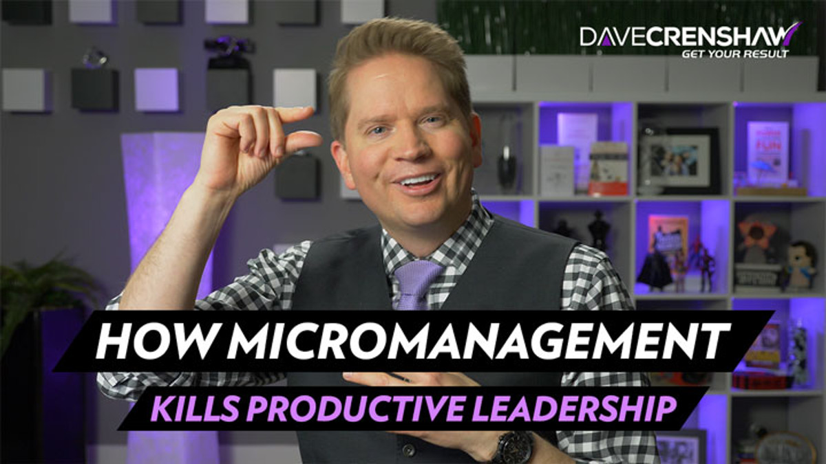 How micromanagement kills productive leadership