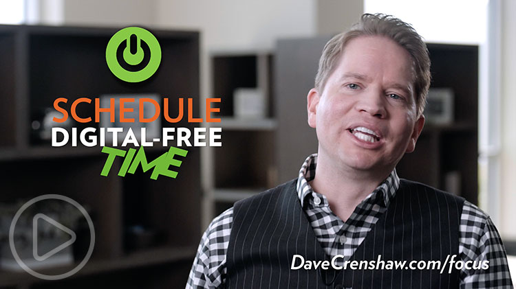 Why we need a digital free zone to be productive