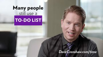 Why you should stop using a to-do list