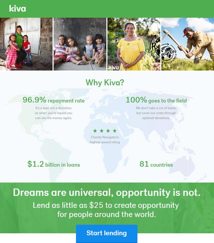 Kiva Banner