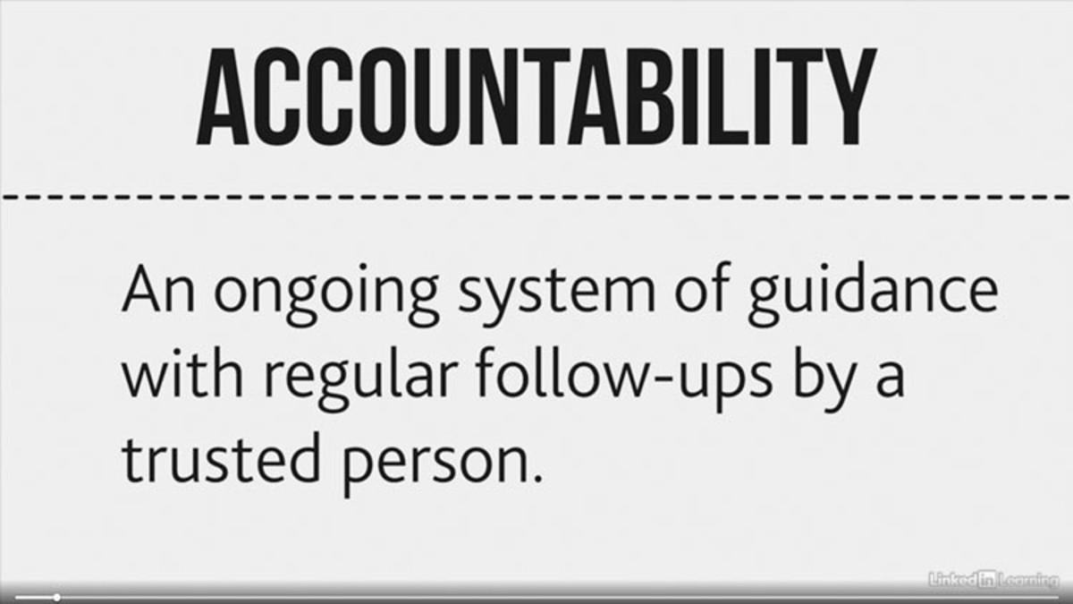 Why you need accountability to achieve those big goals