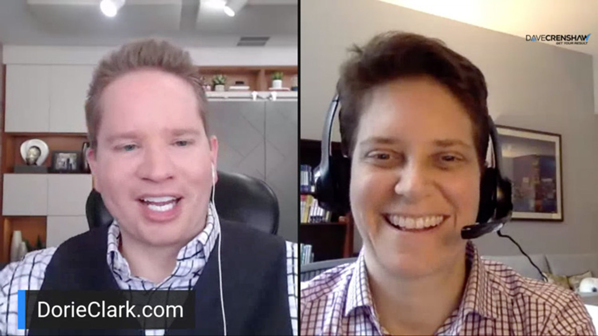 Why a schedule is important when working from home – LIVE Day 2 with Dorie Clark