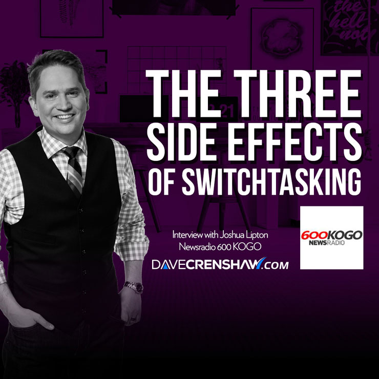 Why you should avoid these three side effects of switchtasking