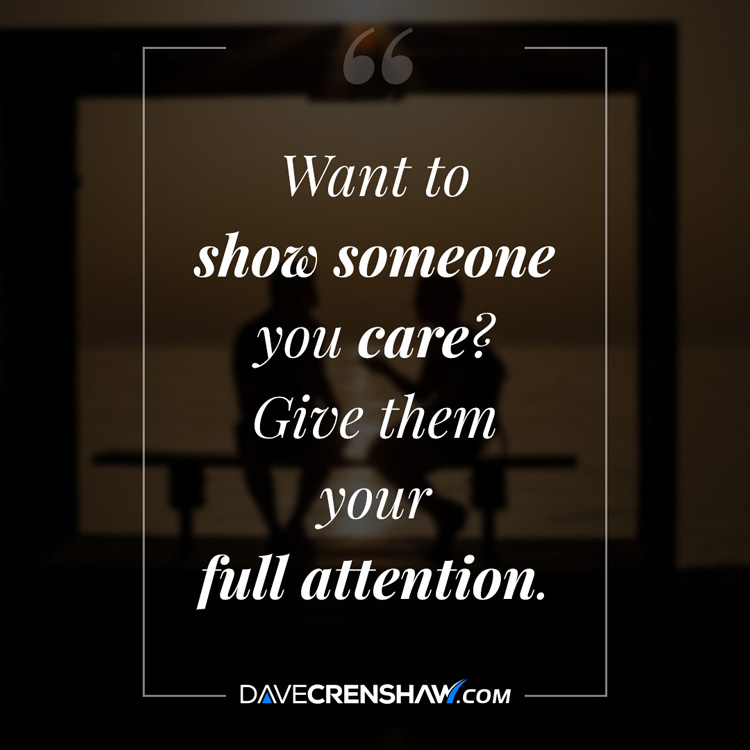 You showing care someone Easy Ways