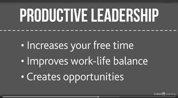 Why a productive leader is more effective than a micromanager